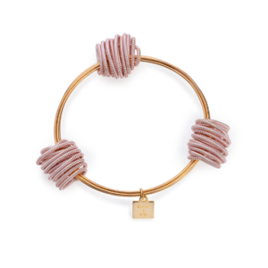 BAs Neptune bangle gold and pink