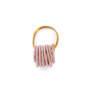 BAS Neptune ring gold pink