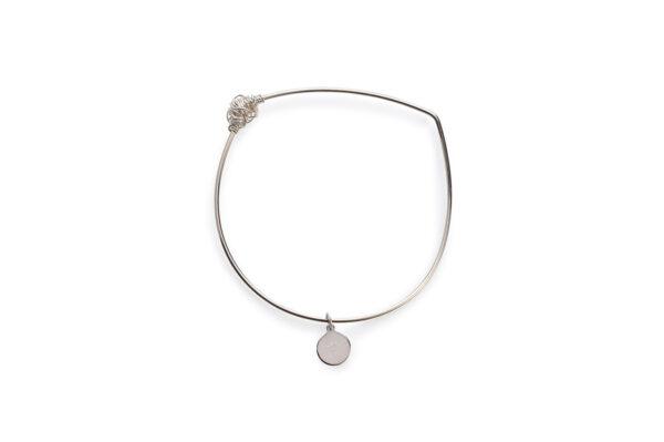 BAS Melia silver bangle