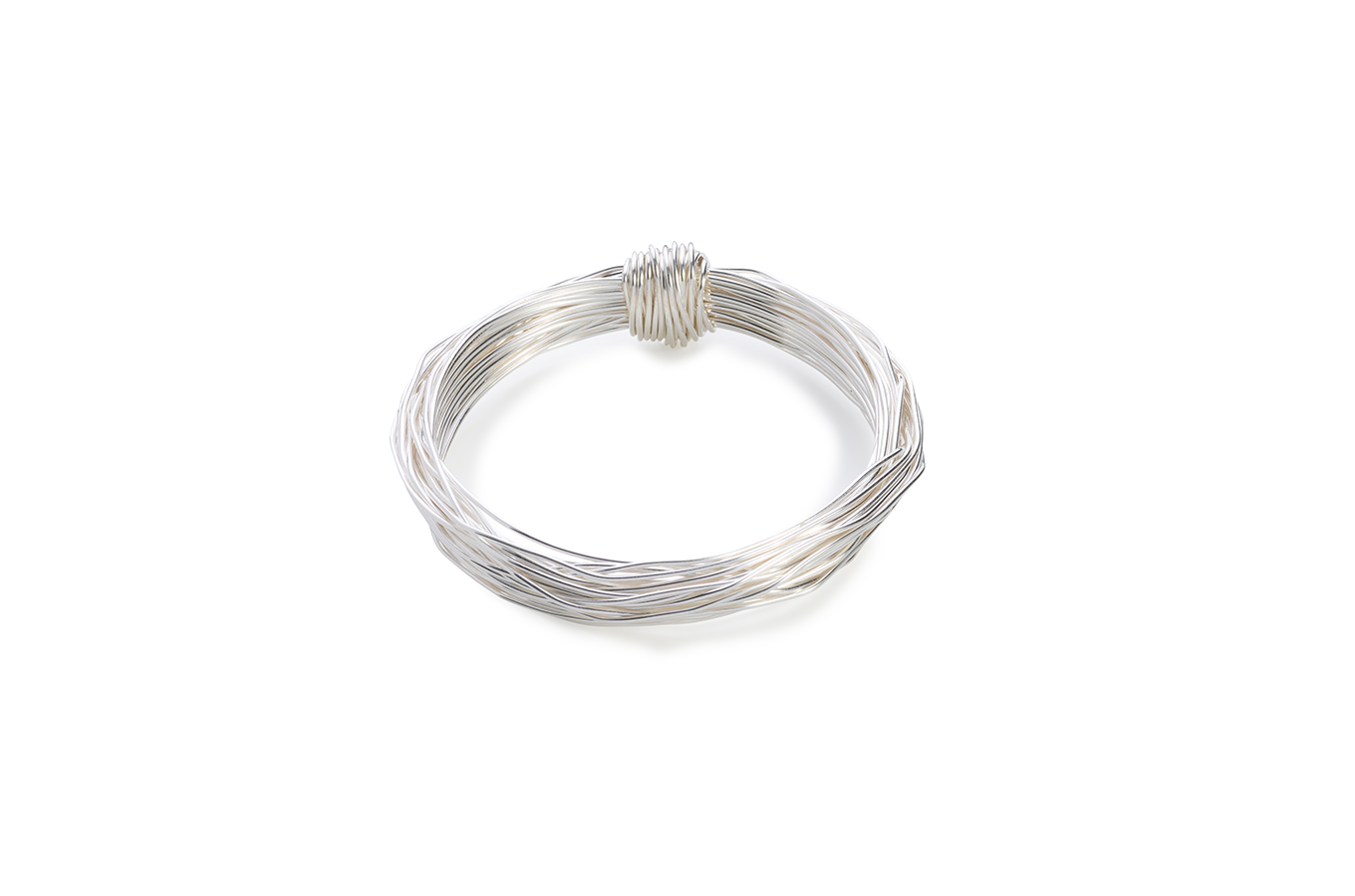 BAS Aphrodite bangle silver