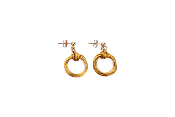 BAS Aphrodite earrings gold