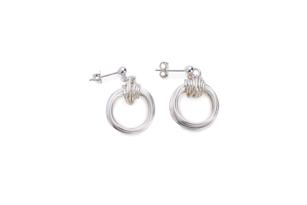 BAS Aphrodite-silver-earrings