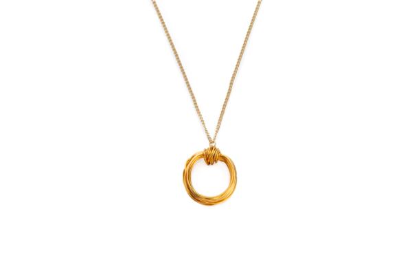 BAS Aphrodite necklace gold