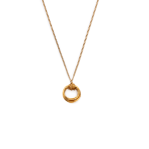 BAS Aphrodite mini necklace gold