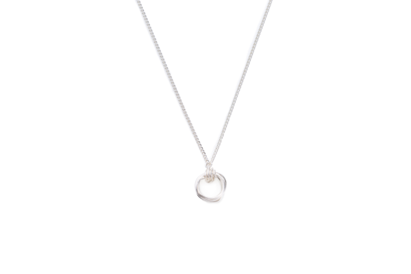 BAS Aphrodite mini necklace silver