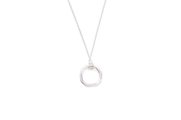 BAS Aphrodite necklace silver