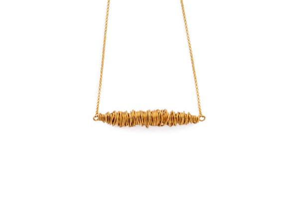 BAS Artemis gold necklace
