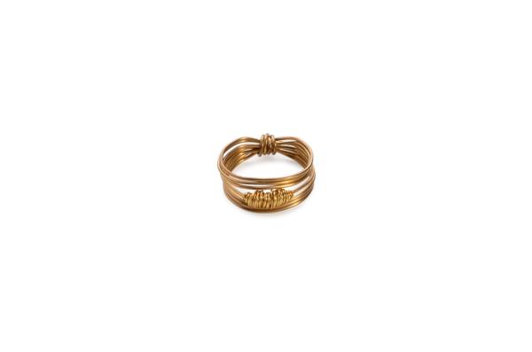 BAS Artemis ring gold