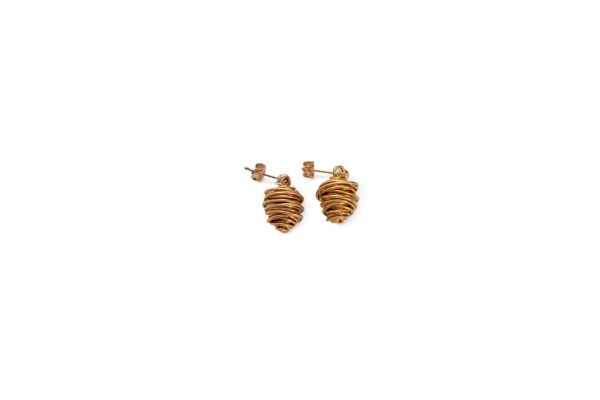 BAS Asteria gold earrings
