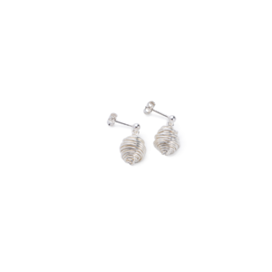 BAS Asteria silver earrings
