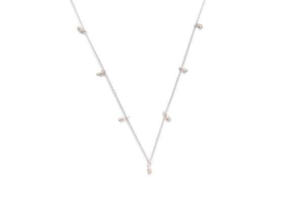 BAS Asteria silver necklace mini