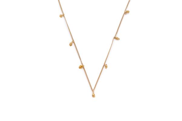 BAS Asteria necklace gold mini