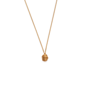 BAS Asteria necklace gold long
