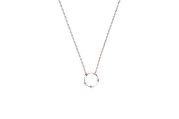 BAS Junie necklace silver