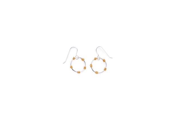 BAS Junie earrings gold
