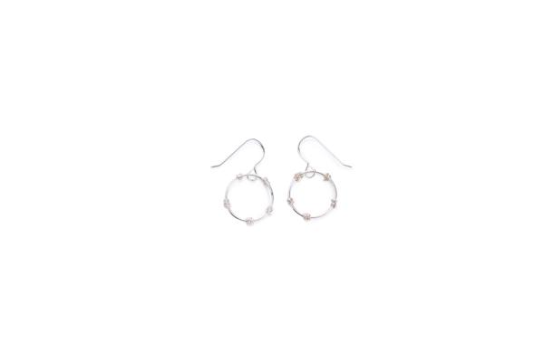 BAS Junie earrings silver