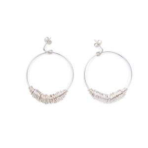 BAS Juno earrings silver