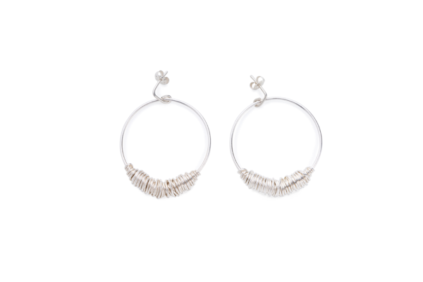 BAS Juno earrings silver