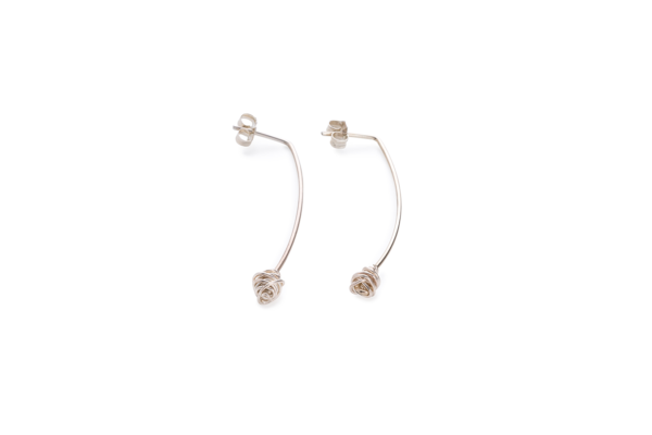 BAS Melia earrings silver