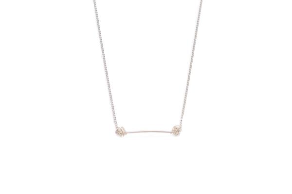 BAS Melia necklace silver