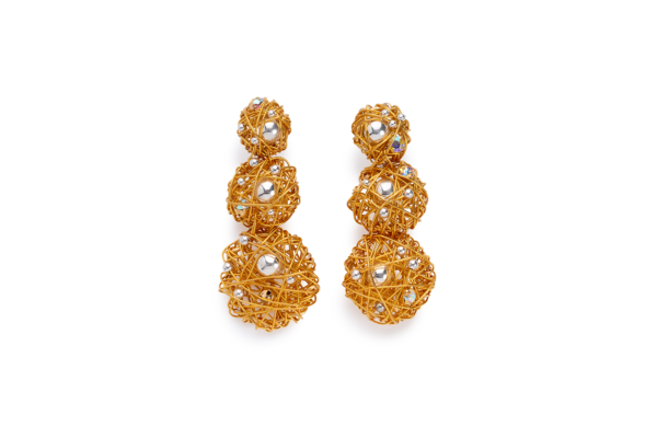 BAS Selene earrings gold