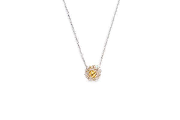 BAS Selene silver necklace