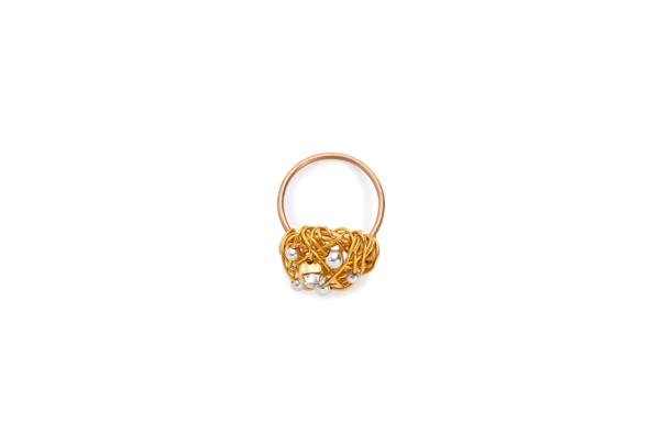 BAs Selene ring gold