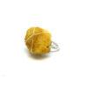 Yellow Druzy side