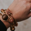 WIre wrapped statement bangle (12 of 16)