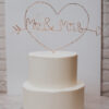 Wire wrapped cake topper-3