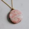 Feel Good Semi precious Stone Necklace-4